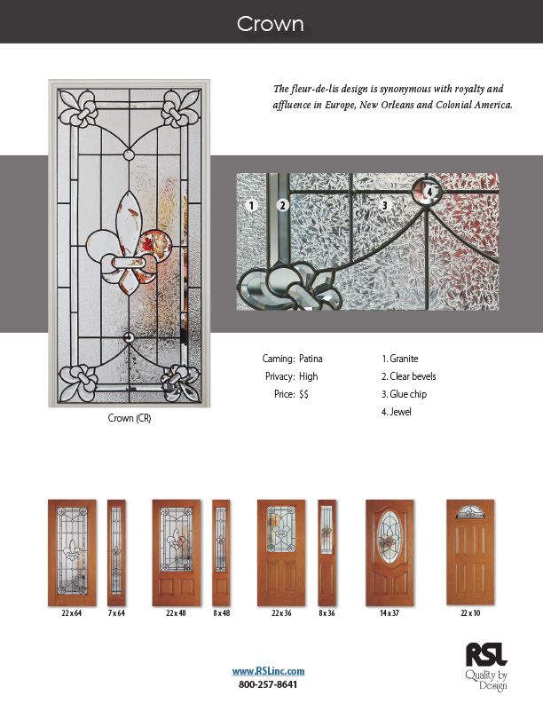 PRODUCTS Doorglass Categories